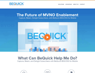 bequick.com screenshot