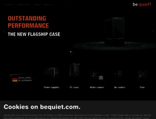 bequiet.com screenshot