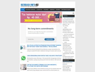 berbagiinfo4u.com screenshot
