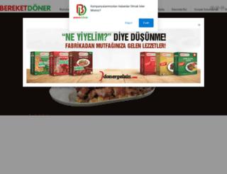 bereketdoner.com screenshot