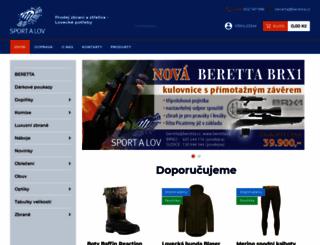 beretta.cz screenshot