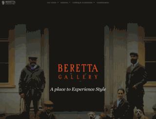 berettagallery.com screenshot
