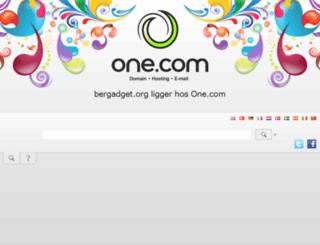 bergadget.org screenshot