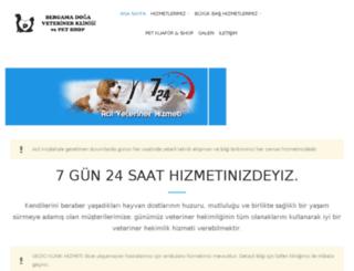 bergamapetveteriner.com screenshot