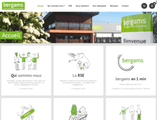 bergams.com screenshot
