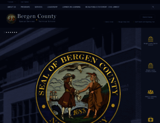 bergen.org screenshot