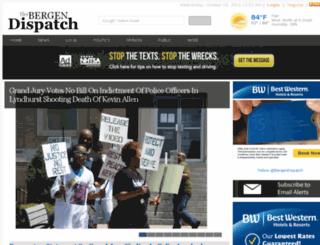 bergendispatch.com screenshot