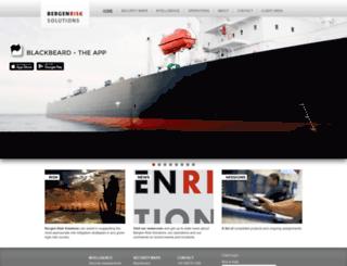 bergenrisksolutions.com screenshot