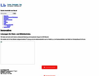 berger-edv.com screenshot