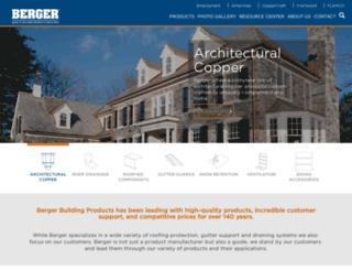 bergerbp.com screenshot
