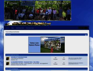bergerpyrenees.fr screenshot