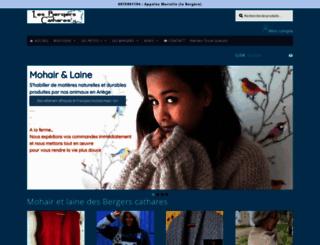 bergers-cathares.com screenshot