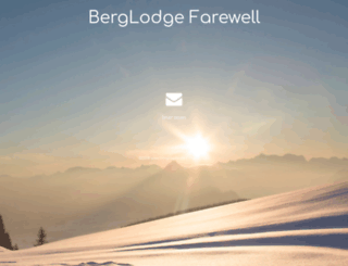 berglodge.de screenshot