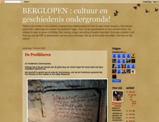 berglopengeschiedenisondergronds.blogspot.com screenshot