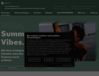 bergmann.seat.de screenshot