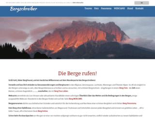 bergschreiber.com screenshot