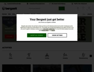 bergzeit.co.uk screenshot
