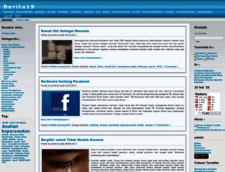 berita19.wordpress.com screenshot