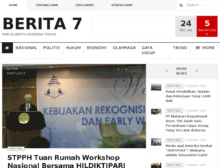berita7.com screenshot