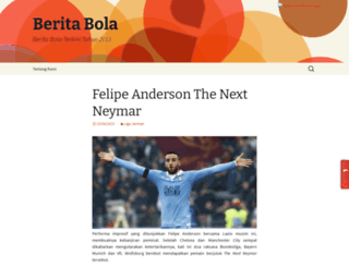beritabola2013.com screenshot