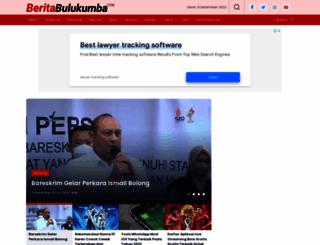 beritabulukumba.com screenshot