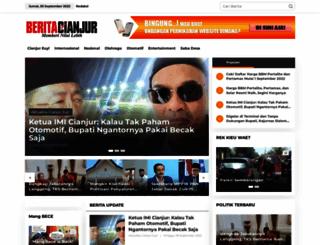 beritacianjur.com screenshot