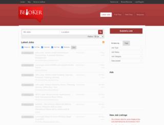 beritalowongankerja.com screenshot