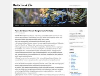 beritauntukkita.wordpress.com screenshot