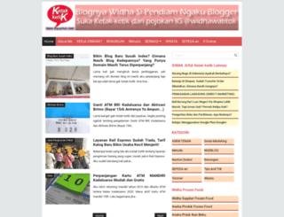 beritawonganteng.blogspot.com screenshot