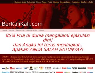 berkalikali.com screenshot