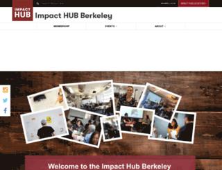berkeley.impacthub.net screenshot