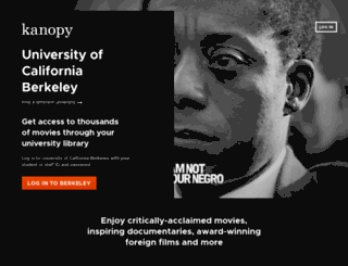 berkeley.kanopystreaming.com screenshot