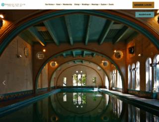 berkeleyhistorichotel.com screenshot