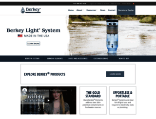 berkeywater.com screenshot