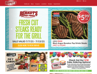 berkotfoods.com screenshot