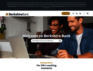 berkshirebank.com screenshot