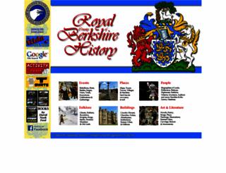 berkshirehistory.com screenshot