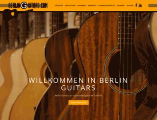 berlin-guitars.com screenshot