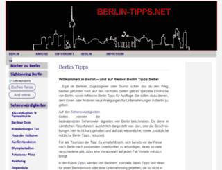 berlin-tipps.net screenshot