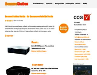 berlin.beamerstation.de screenshot