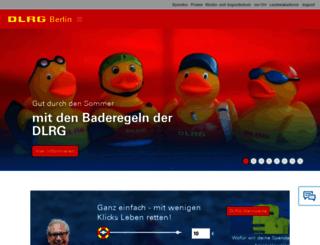 berlin.dlrg.de screenshot