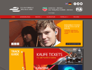 berlin.fiaformulae.com screenshot