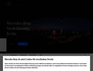 berlin.mercedes-benz.de screenshot