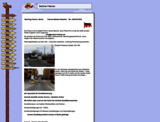 berliner-fahnen.de screenshot