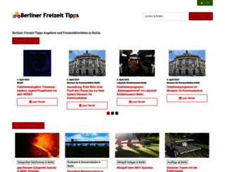 berliner-freizeit-tipps.de screenshot
