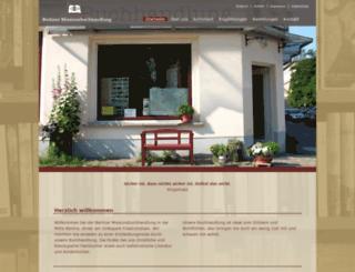 berliner-missionsbuchhandlung.de screenshot