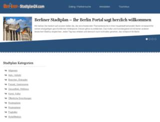 berliner-stadtplan24.com screenshot