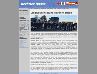 berlinerbusse.com screenshot