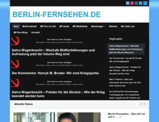 berlinfernsehen.de screenshot