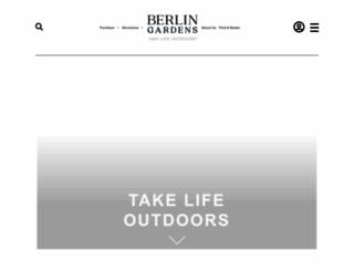 berlingardensllc.com screenshot